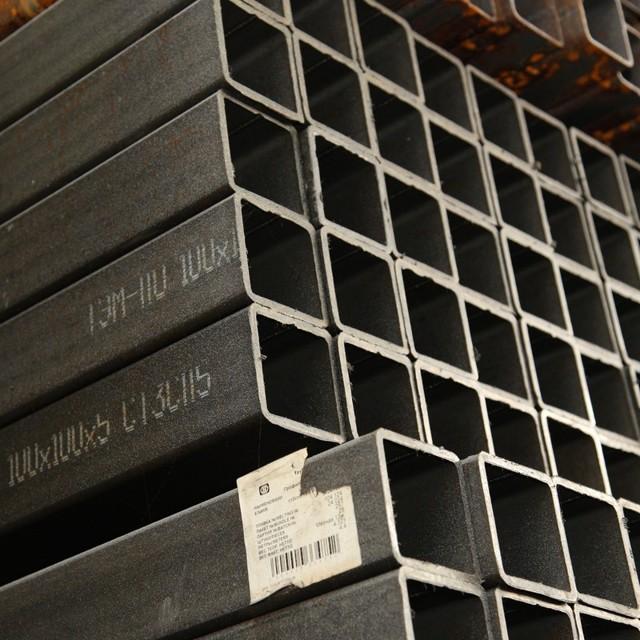 Труба стальная квадратная 80х80х5 гост 8639 62 l 7300