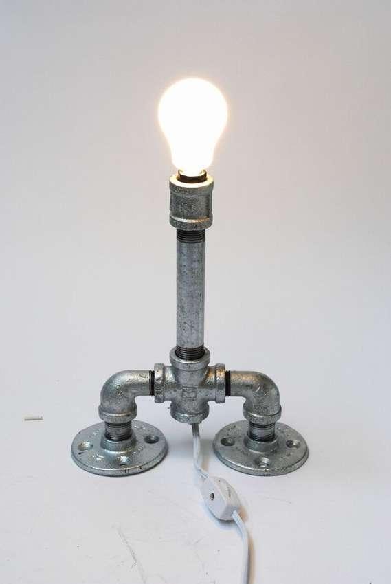 Светильники своими руками из металлических труб