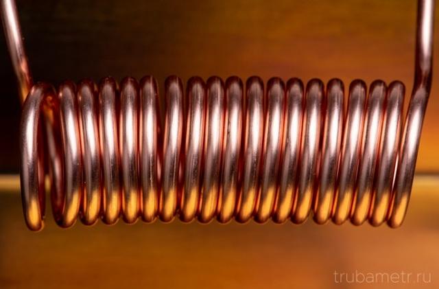 Сгибаем трубу в спираль