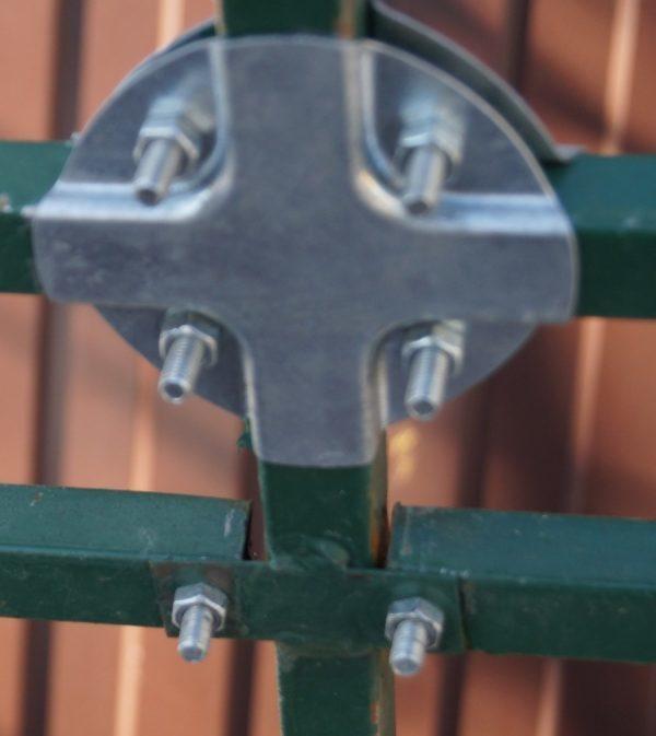 Хомут для соединения квадратных труб