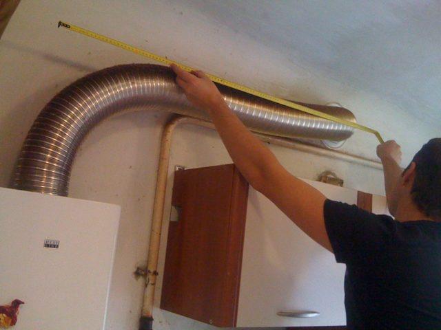 Диаметр газовой трубы для подключения газовой колонки