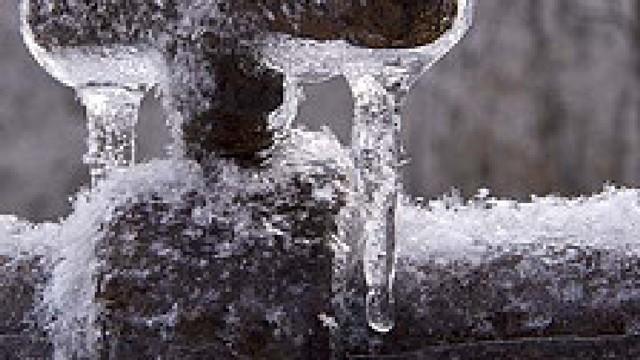 Как можно растаять лед в трубе