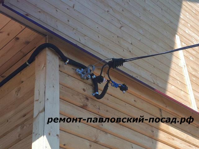 2 кабеля ввг в одной трубе