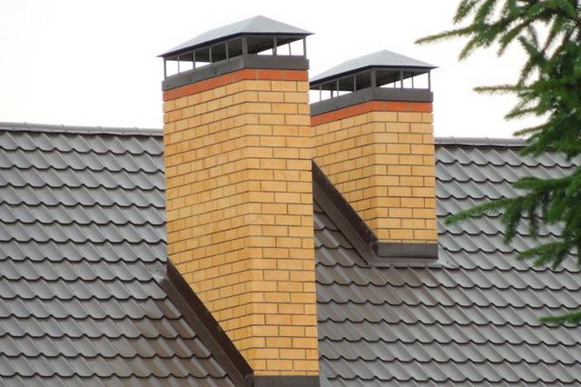 Как изолировать трубу дымохода в крыше