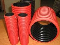 Двустенная труба пнд жесткая для кабельной канализации д 160мм