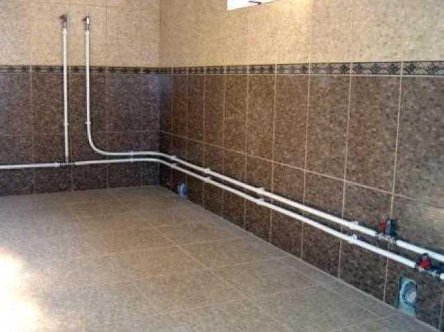 Какого диаметра устанавливают трубы в ванной
