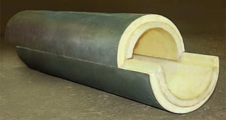 Поролон для трубы отопления