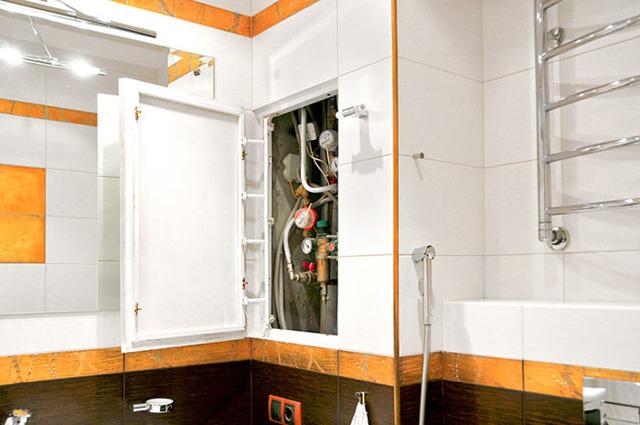 Как обойти плиткой трубы в ванной