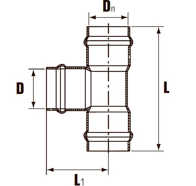 Тройник пвх для канализационных труб размер
