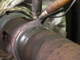 Сварка трубных конструкций ручной дуговой сваркой