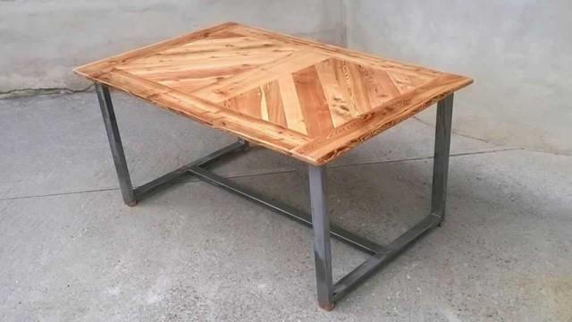 Сварной стул из профильной трубы