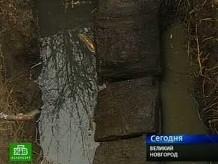 Деревянная труба под воду