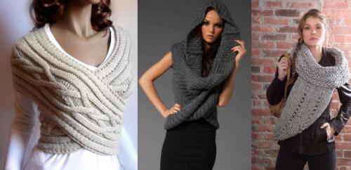 Как одеть шарф труба мужской