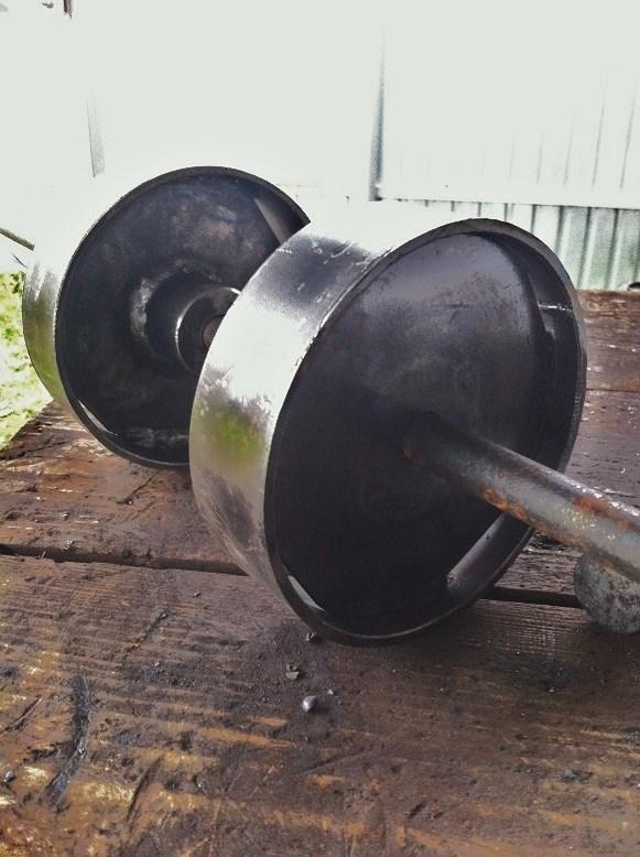 Как делать конус из трубы