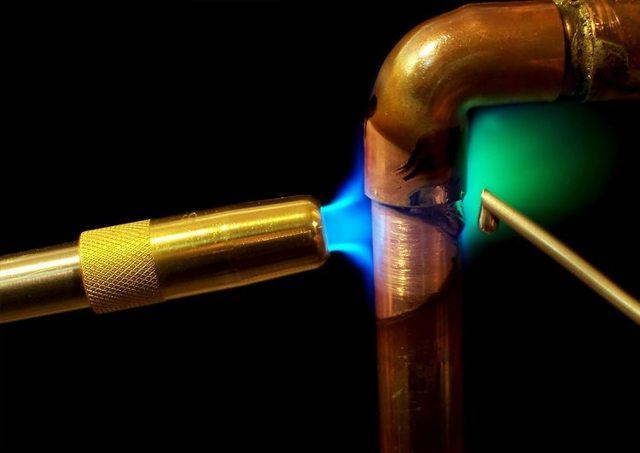 Система водоснабжения отопления монтаж медными трубами
