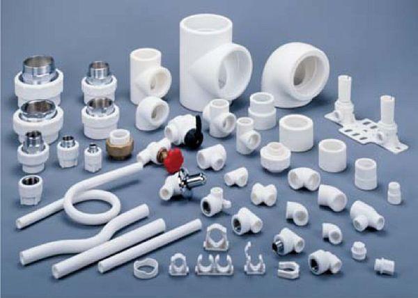 Фитинги с пластиковыми муфтами