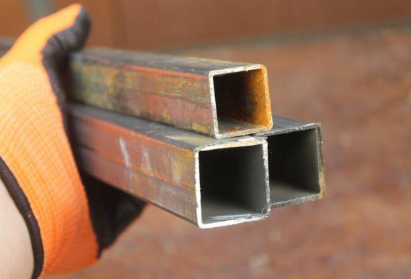 Муфта для квадратной трубы