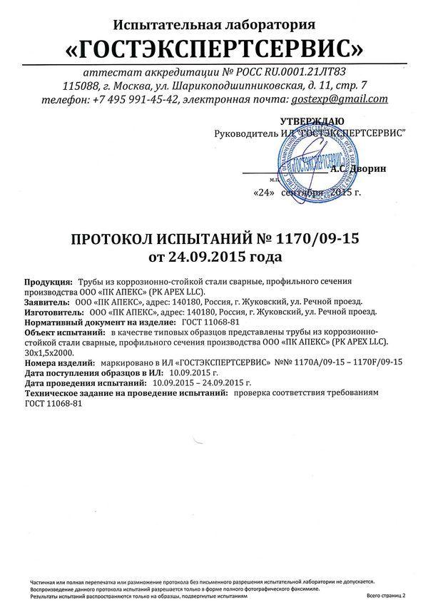 Труба 200х160х5 сертификат качества
