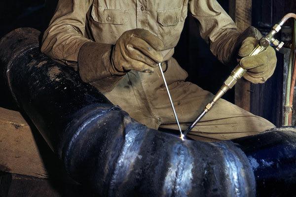 Сварка труб из секторов