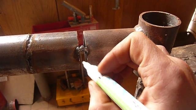 Как красиво сваривать трубы