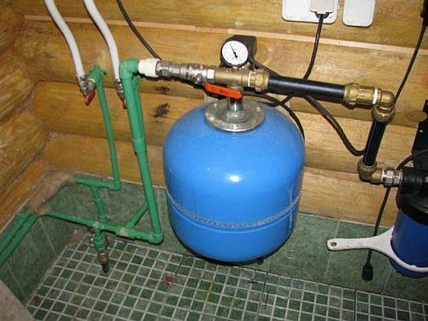 Авария труба холодного водоснабжения