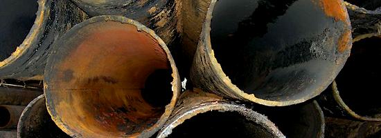 Аварии в скважине с обсадными трубами