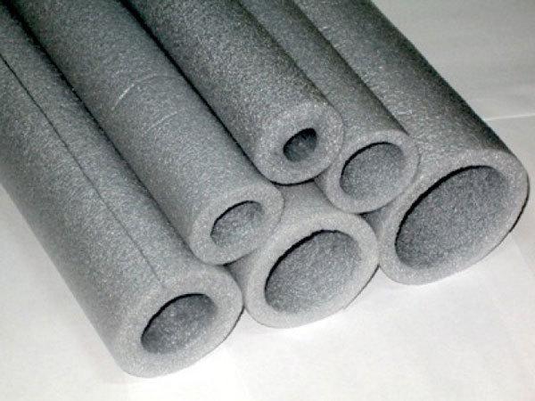 Труба стальная изолированная двухслойным покрытием из экструдированного полиэтилена сэвилен