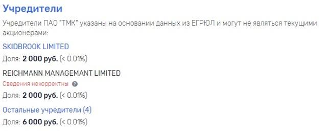 Трубной металлургической компании тмк дмитрия пумпянского