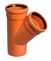 Тройники для канализационных полипропиленовых труб