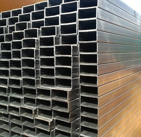 Алюминиевая профильная труба 50х200х2