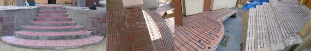 Монтаж трубы теплого пола за метр