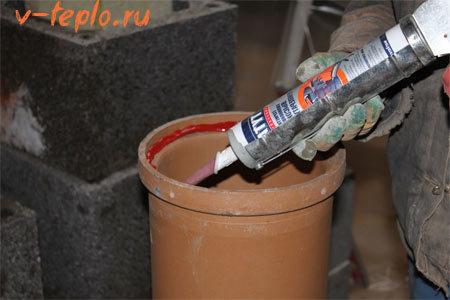 Алюминиевая труба для буржуйки