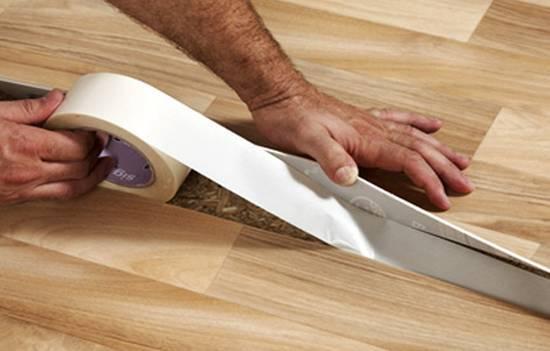 Как заделать дырку в бетонном полу после замены труб
