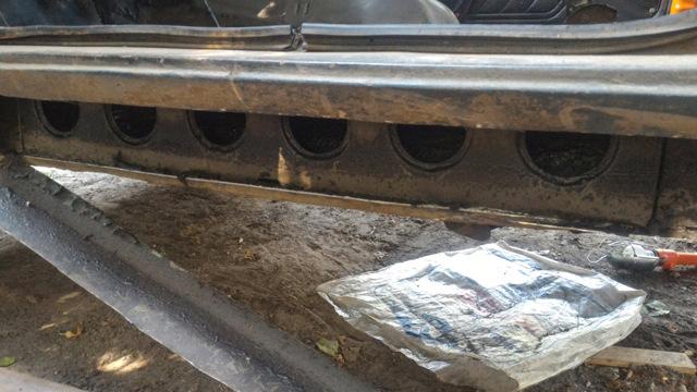 Пороги ваз 2121 из профильной трубы
