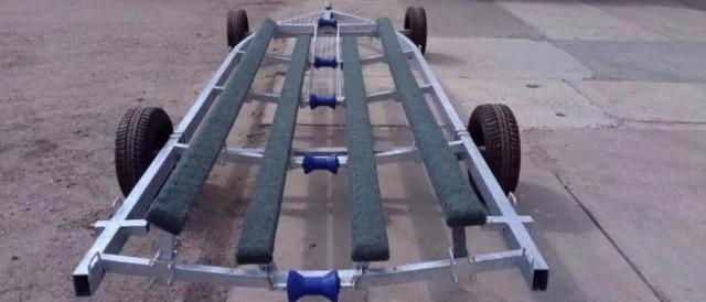 Сделать тележку для лодочного мотора из пвх труб