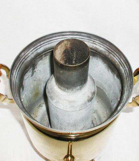 Как запаять трубу самовара