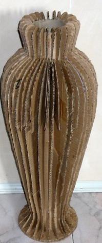 Светильники из труб от линолеума