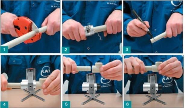Как заменить участок полипропиленовой трубы в стояке