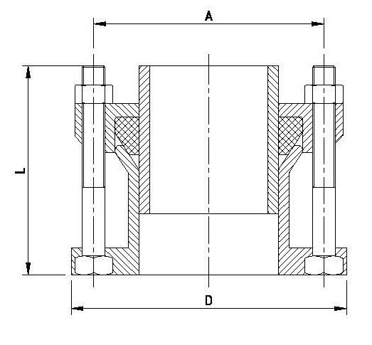 Фланцевый адаптер для пэ труб 150