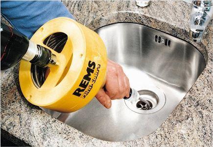 Трос для прочистки канализационных труб касторама