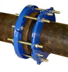 Свертная муфта для ремонта труб чугун