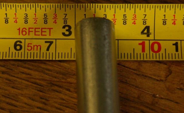 220 мм в дюймы для труб