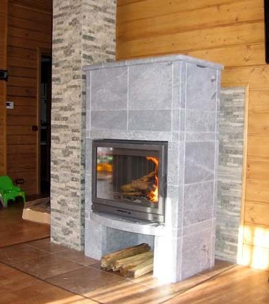 Как обшить трубу дымохода внутри дома