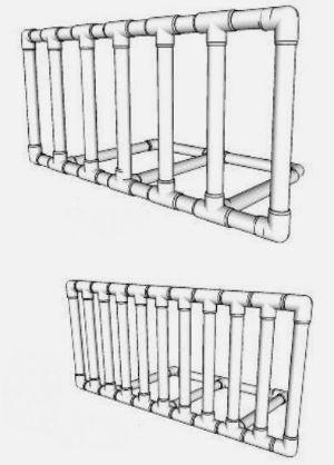 Делаем из обрезков труб