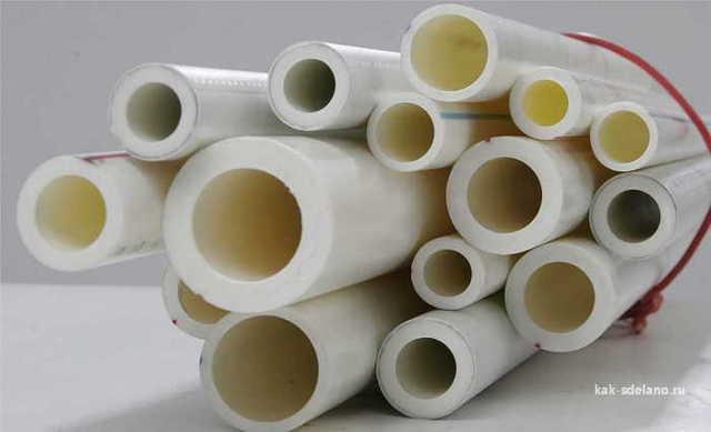 Полипропиленовые трубы маленького диаметра
