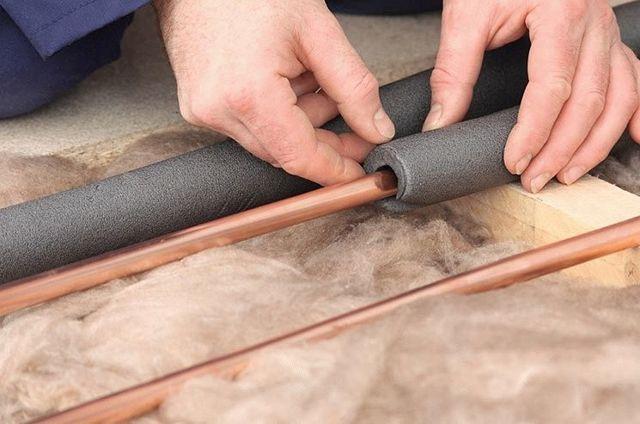 Толщина теплоизоляции для трубопроводов горячего водоснабжения