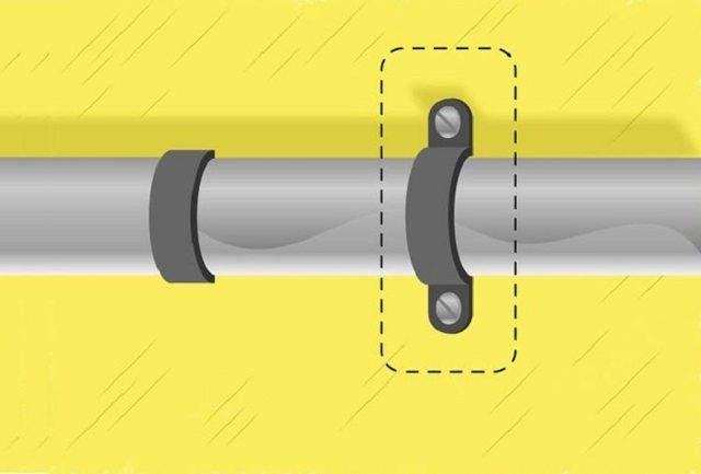 Скоба для монтажа трубопроводов