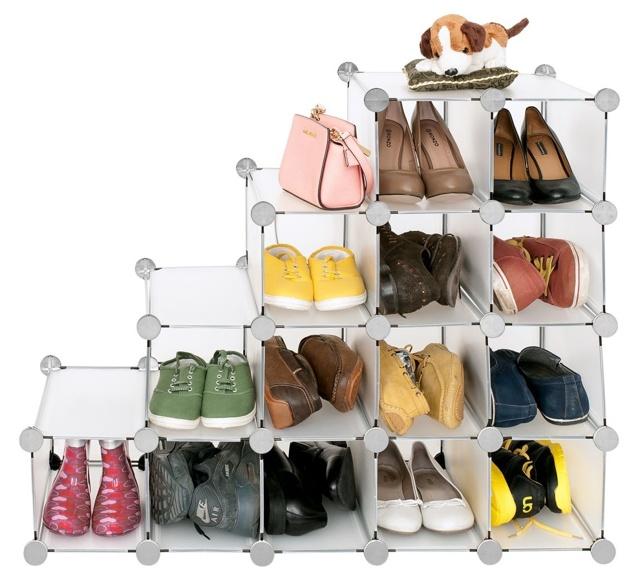 Полки под обувь своими руками из пластиковых труб