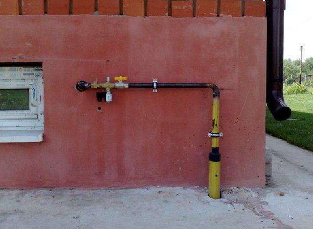 Фундаменты под газовую трубу