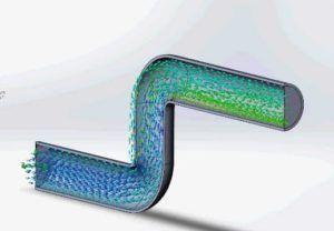 Как определить давление в трубе зная расход